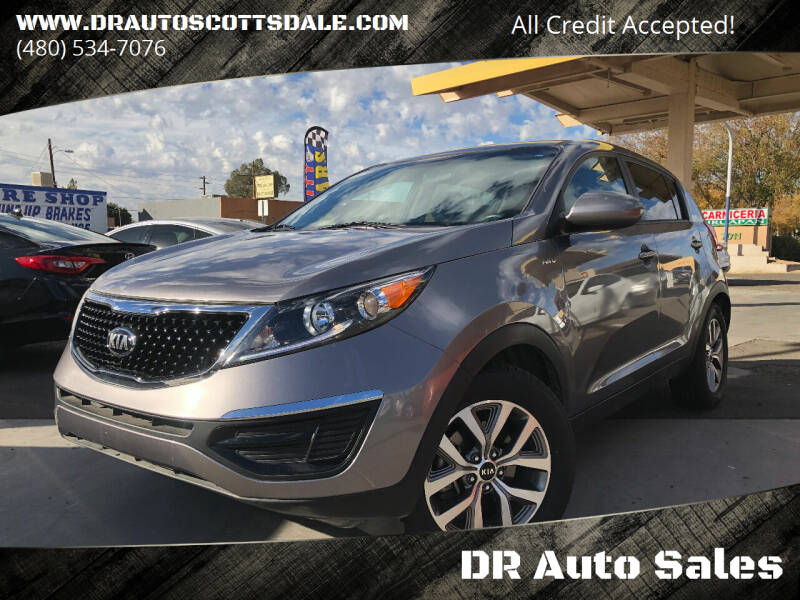 2015 Kia Sportage for sale at DR Auto Sales in Scottsdale AZ
