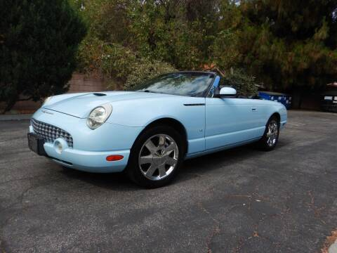 2003 Ford Thunderbird for sale at California Cadillac & Collectibles in Los Angeles CA