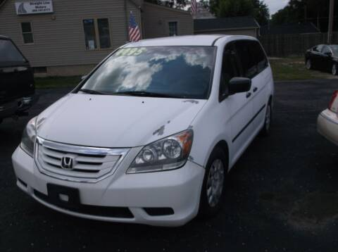 2008 Honda Odyssey for sale at Straight Line Motors LLC in Fort Wayne IN
