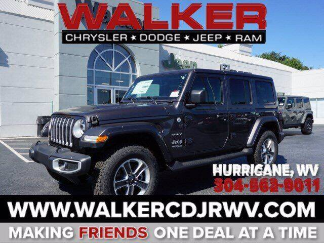 2021 Jeep Wrangler Unlimited for sale in Hurricane, WV