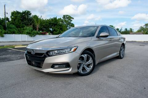 2020 Honda Accord for sale at Guru Auto Sales in Miramar FL