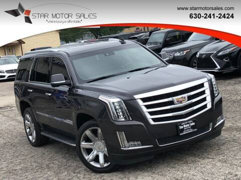 2015 Cadillac Escalade for sale at Star Motor Sales in Downers Grove IL