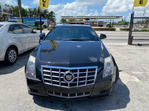2012 Cadillac CTS for sale at America Auto Wholesale Inc in Miami FL