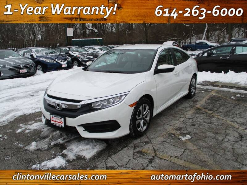 2017 Honda Civic for sale at Clintonville Car Sales - AutoMart of Ohio in Columbus OH