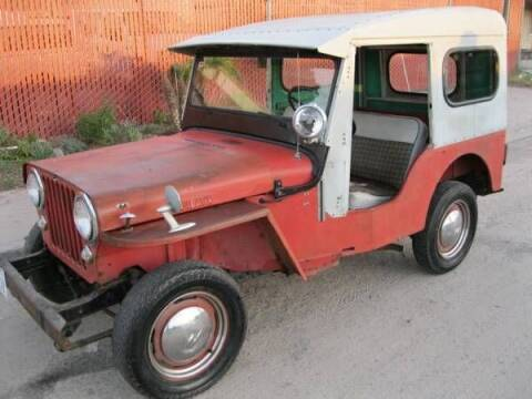 1956 Willys Jeep for sale at Haggle Me Classics in Hobart IN