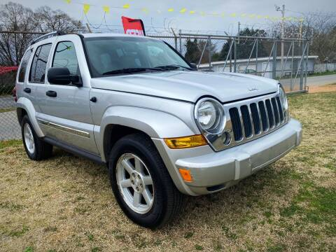 2006 Jeep Liberty for sale at Cutiva Cars in Gastonia NC