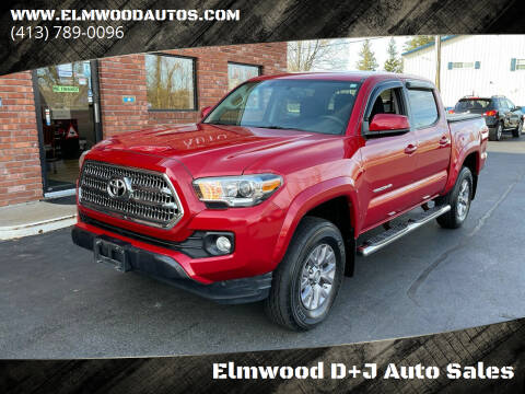 2017 Toyota Tacoma for sale at Elmwood D+J Auto Sales in Agawam MA