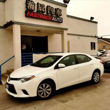2015 Toyota Corolla for sale at Fastrack Auto Inc in Rosemead CA