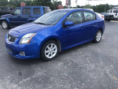 2011 Nissan Sentra for sale at EAGLE ROCK AUTO SALES in Eagle Rock MO