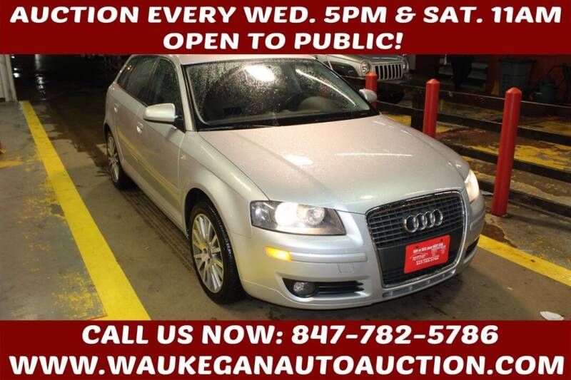 2008 Audi A3 for sale at Waukegan Auto Auction in Waukegan IL
