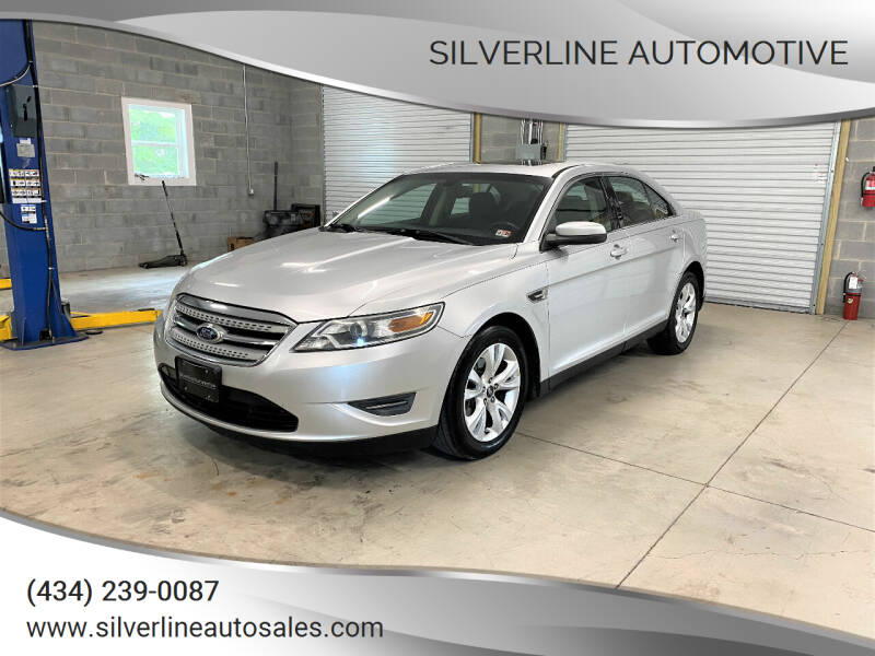 2010 Ford Taurus for sale at Silverline Automotive in Lynchburg VA