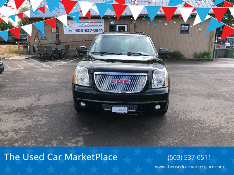 2009 GMC Yukon XL for sale at The Used Car MarketPlace in Newberg OR