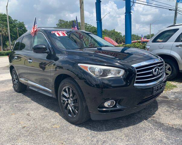 2013 Infiniti JX35 for sale at AUTO PROVIDER in Fort Lauderdale FL