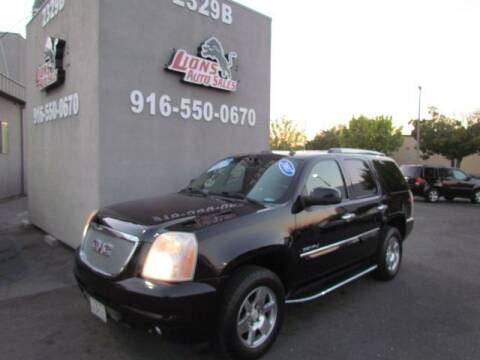 2007 GMC Yukon for sale at LIONS AUTO SALES in Sacramento CA