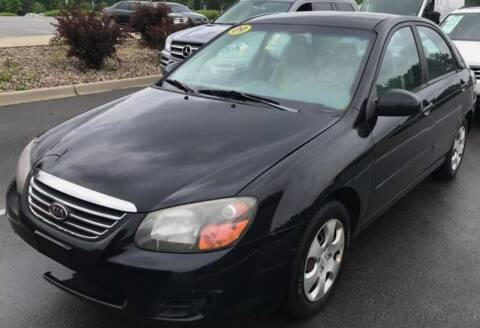 2009 Kia Spectra for sale at D & J AUTO EXCHANGE in Columbus IN
