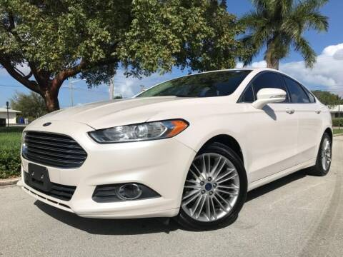 2014 Ford Fusion for sale at DS Motors in Boca Raton FL