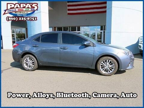 2015 Toyota Corolla for sale at Papas Chrysler Dodge Jeep Ram in New Britain CT