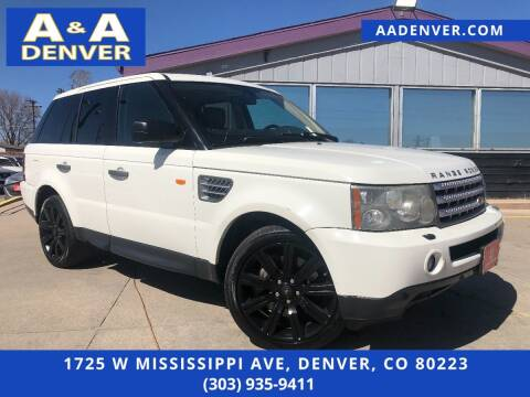 2008 Land Rover Range Rover Sport for sale at A & A AUTO LLC in Denver CO