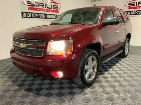 2010 Chevrolet Tahoe for sale at SIRIUS MOTORS INC in Monroe OH