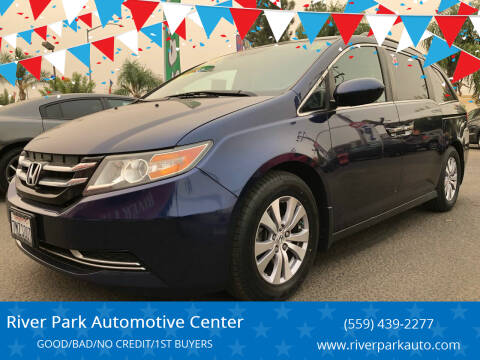 2015 Honda Odyssey for sale at River Park Automotive Center in Fresno CA