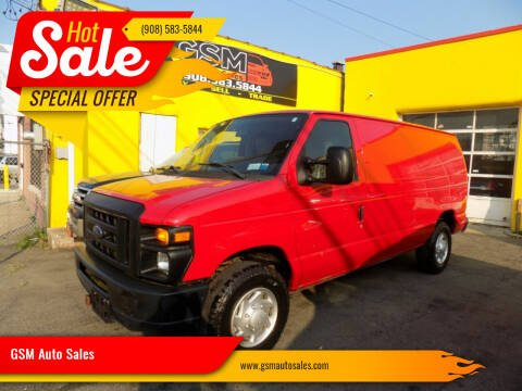 2011 Ford E-Series Cargo for sale at GSM Auto Sales in Linden NJ