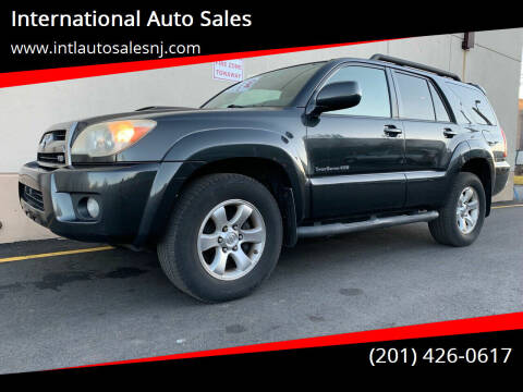 2007 Toyota 4Runner for sale at International Auto Sales in Hasbrouck Heights NJ