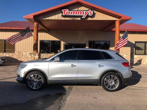 2016 Lincoln MKX for sale at Tommy's Car Lot in Chadron NE