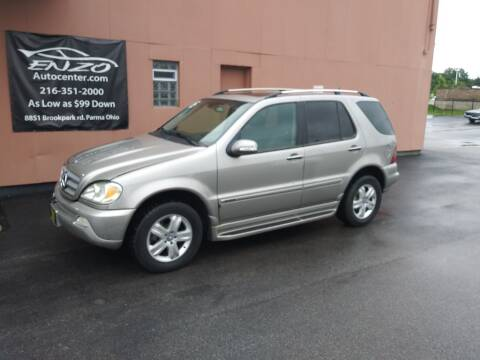 2005 Mercedes-Benz M-Class for sale at ENZO AUTO in Parma OH