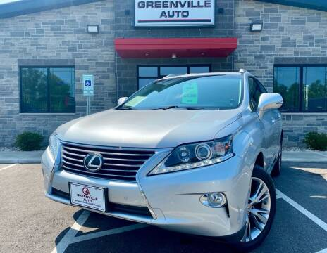 2014 Lexus RX 350 for sale at GREENVILLE AUTO in Greenville WI