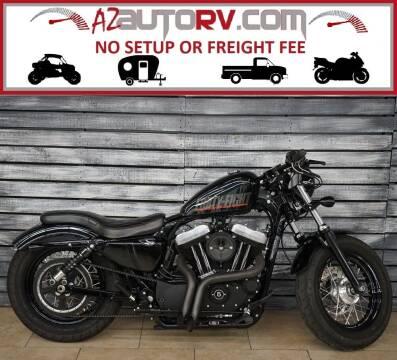 2014 Harley-Davidson Sportster for sale at AZautorv.com in Mesa AZ