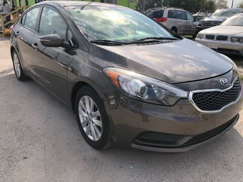2015 Kia Forte for sale at Marvin Motors in Kissimmee FL
