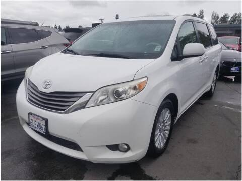 2011 Toyota Sienna for sale at AutoDeals in Daly City CA