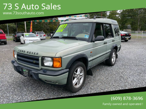 2002 Land Rover Discovery Series II for sale at 73 S Auto Sales in Hammonton NJ