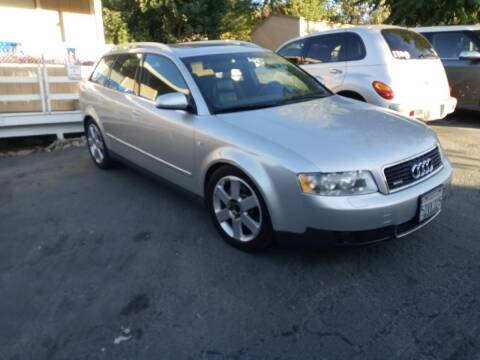 2003 Audi A4 for sale at AUCTION SERVICES OF CALIFORNIA in El Dorado CA