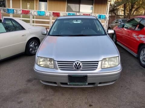 2001 Volkswagen Jetta for sale at AUCTION SERVICES OF CALIFORNIA in El Dorado CA