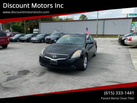 2009 Nissan Altima for sale at Discount Motors Inc in Nashville TN