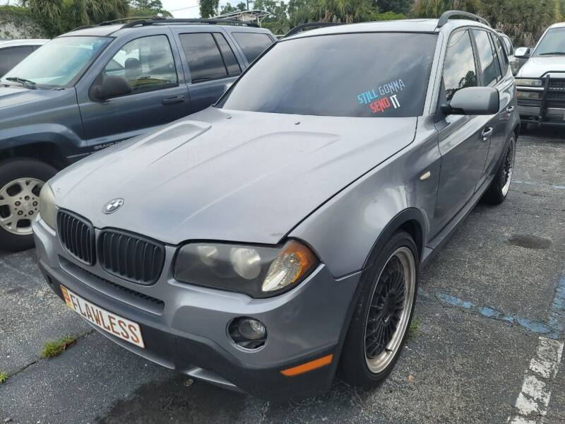 2004 BMW X3 for sale at Castle Used Cars in Jacksonville FL