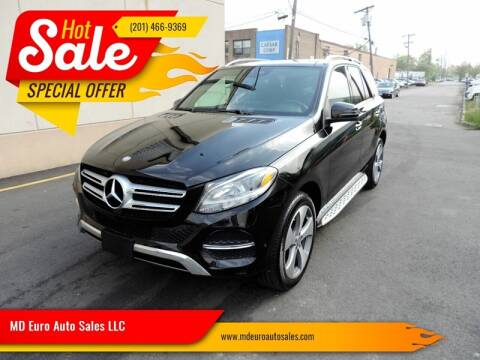2016 Mercedes-Benz GLE for sale at MD Euro Auto Sales LLC in Hasbrouck Heights NJ
