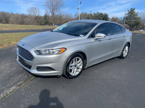 2016 Ford Fusion for sale at Gary Sears Motors in Somerset KY