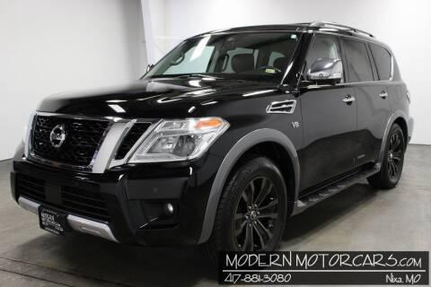 2018 Nissan Armada for sale at Modern Motorcars in Nixa MO