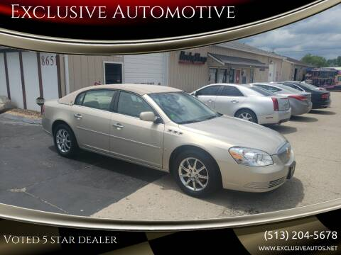 2008 Buick Lucerne for sale at Exclusive Automotive in West Chester OH