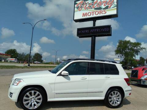 2012 Mercedes-Benz GLK for sale at Victory Motors in Waterloo IA
