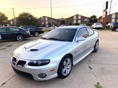 2005 Pontiac GTO for sale at Car Gallery in Oklahoma City OK