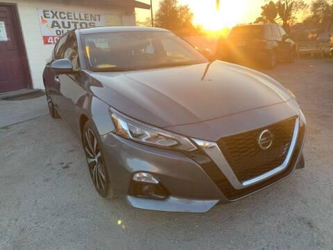 2020 Nissan Altima for sale at Excellent Autos of Orlando in Orlando FL