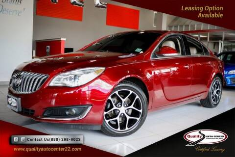 2017 Buick Regal for sale at Quality Auto Center in Springfield NJ