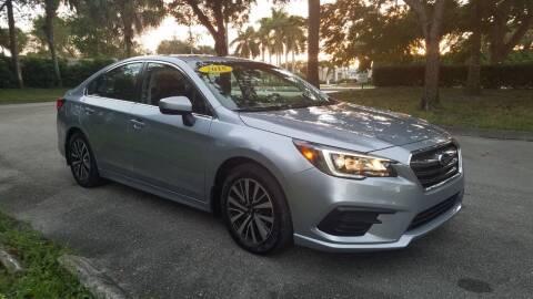2018 Subaru Legacy for sale at DELRAY AUTO MALL in Delray Beach FL