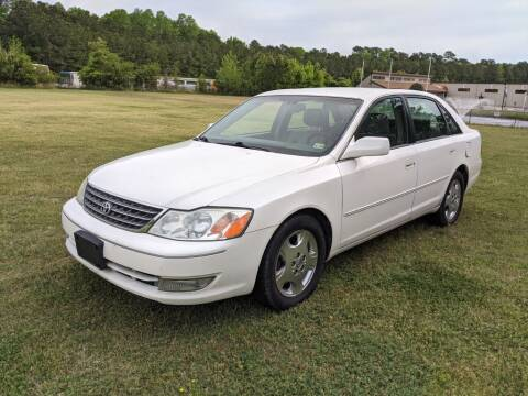 2003 Toyota Avalon for sale at Hal's Auto Sales in Suffolk VA