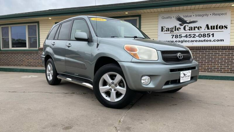 2005 Toyota RAV4 for sale at Eagle Care Autos in Mcpherson KS