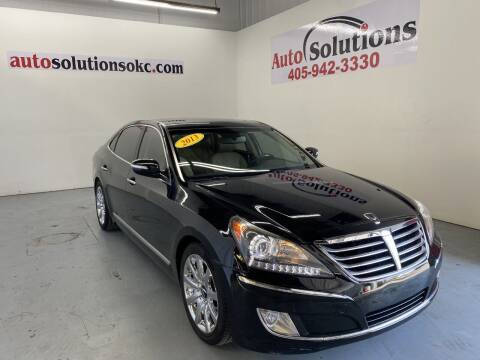 2013 Hyundai Equus for sale at Auto Solutions in Warr Acres OK