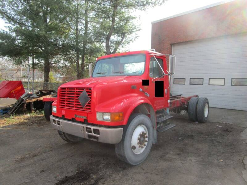 2000 International 4900 for sale at Lynch's Auto - Cycle - Truck Center in Brockton MA